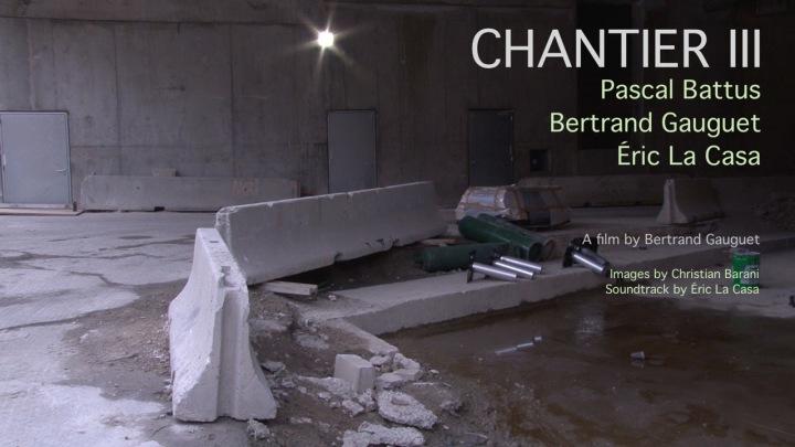 CHANTIER III